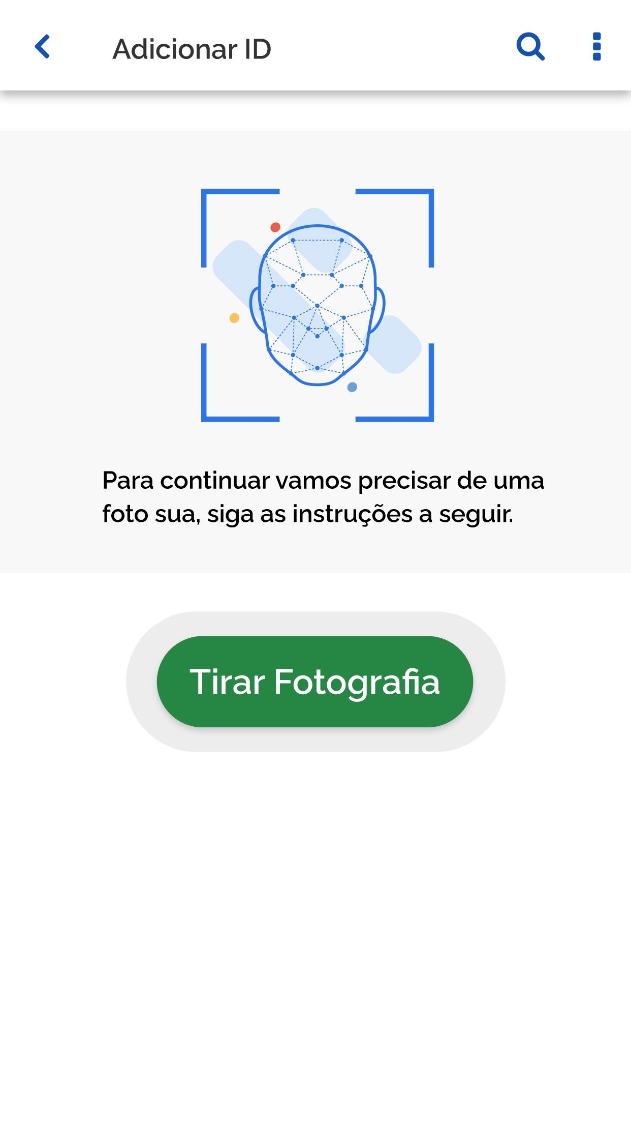 Screenshot do app ID Estudantil