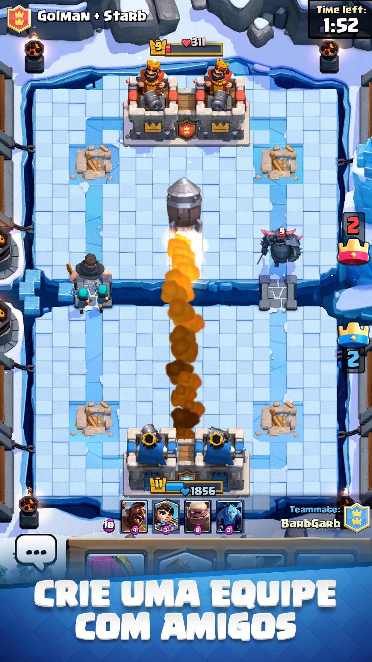 Screenshot do app Clash Royale