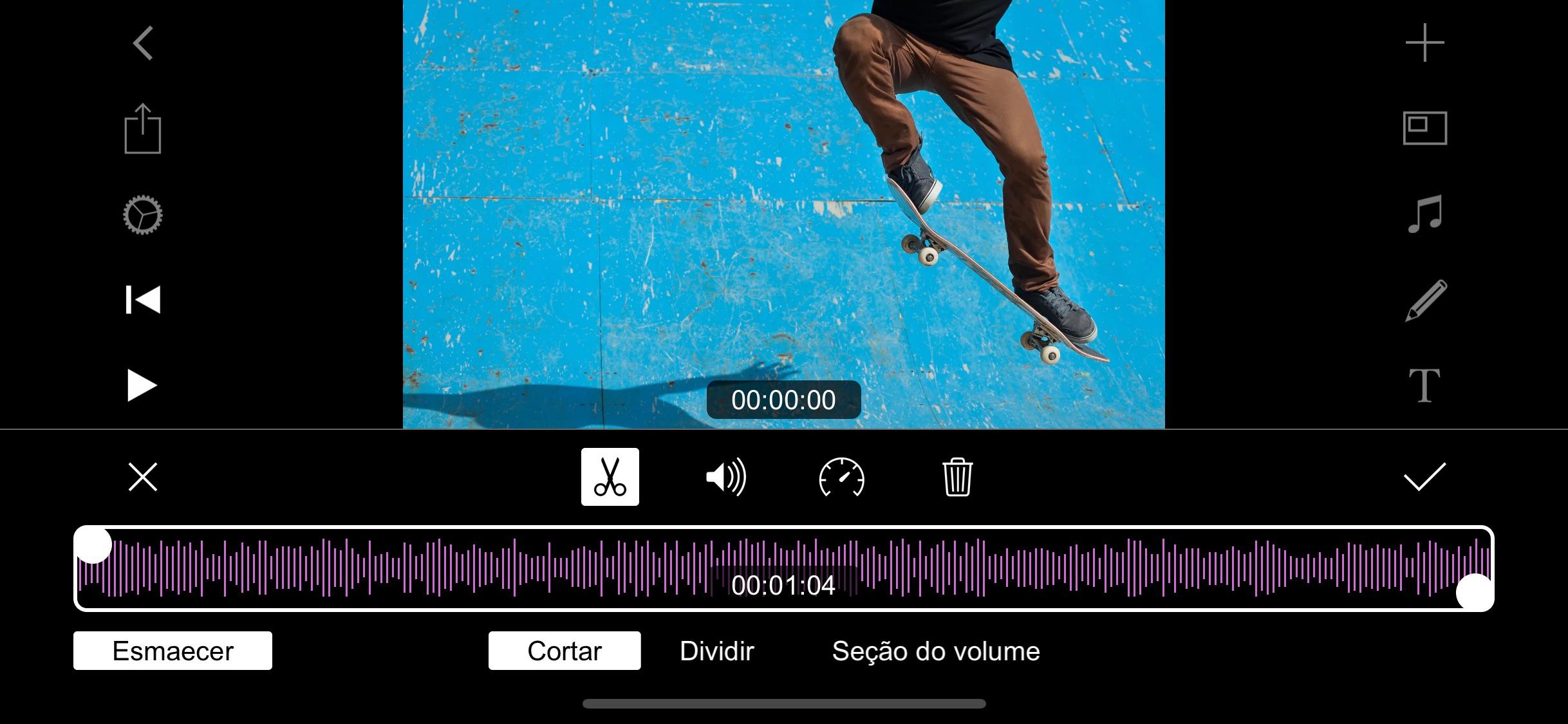 Screenshot do app Filmmaker Pro Editor de Vídeos