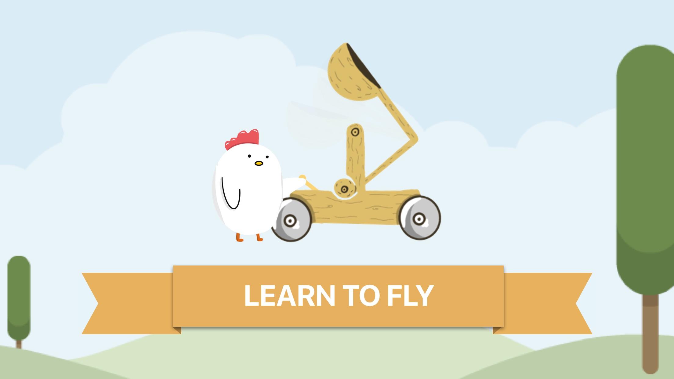 Screenshot do app Fly, Chicken!