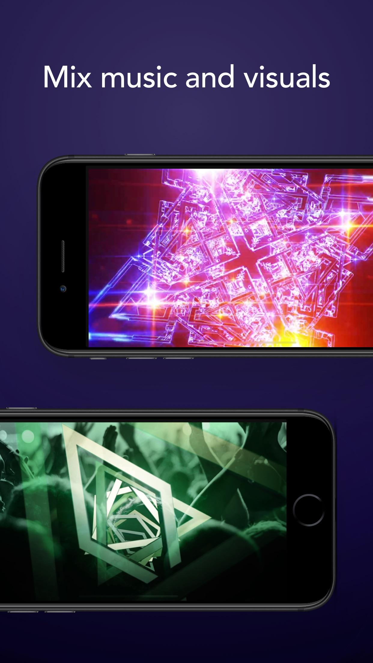 Screenshot do app djay - DJ App & AI Mixer