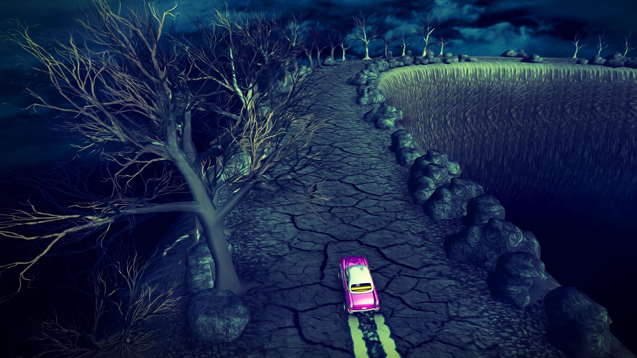 Screenshot do app Vertigo Racing
