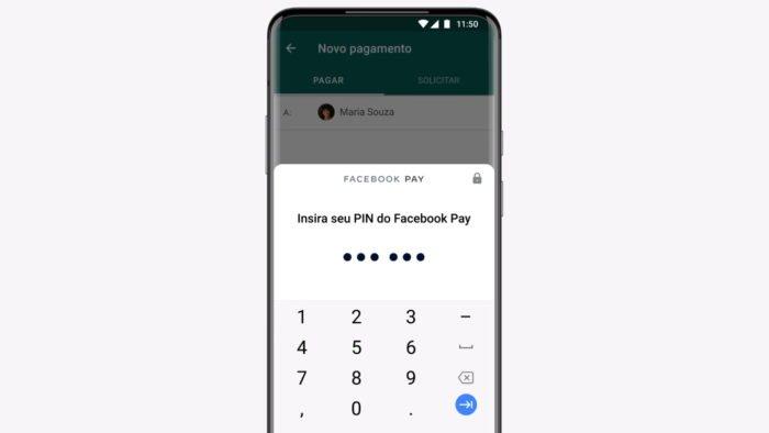 WhatsApp Pagamentos e Facebook Pay