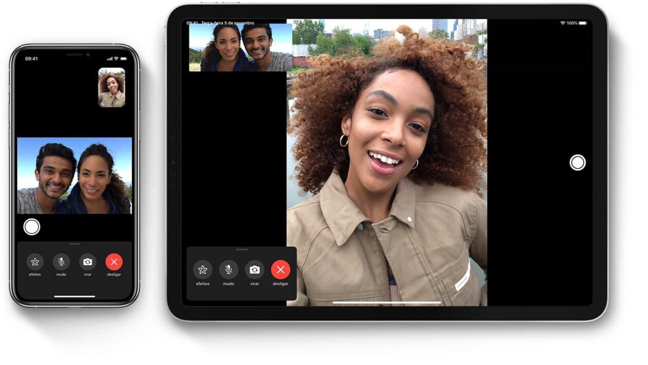 FaceTime no iOS 13