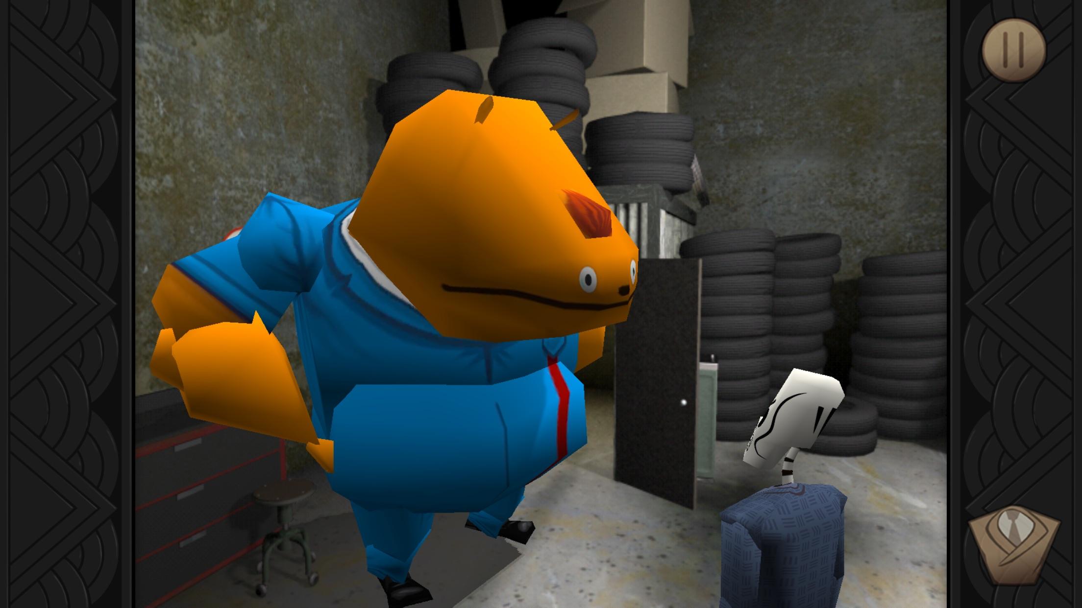 Screenshot do app Grim Fandango Remastered