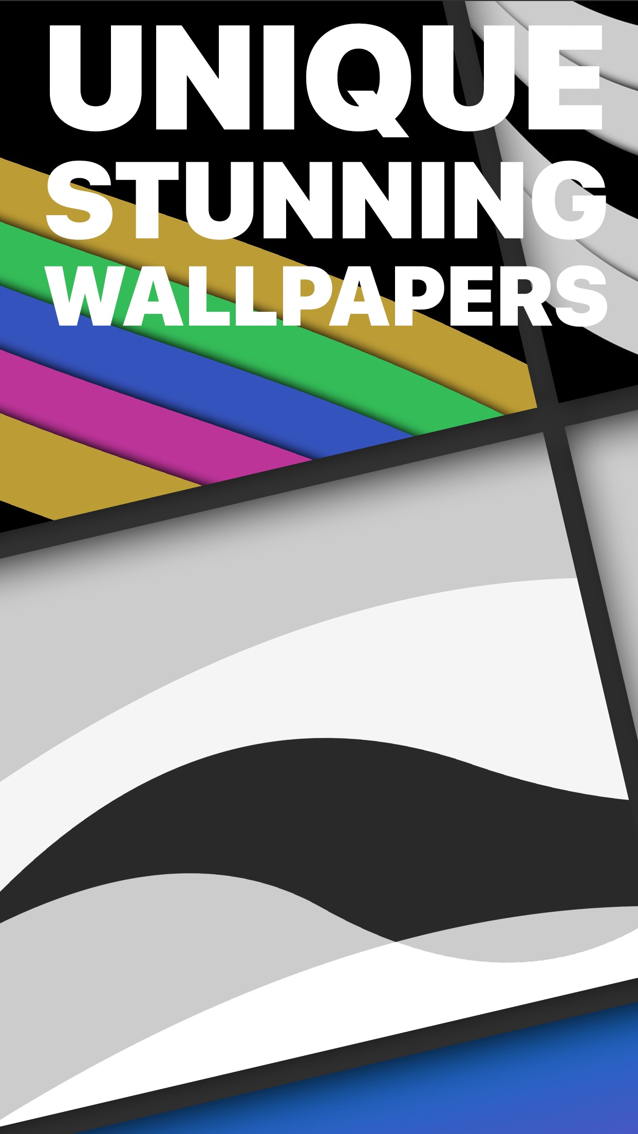 Screenshot do app The Wallpaper App