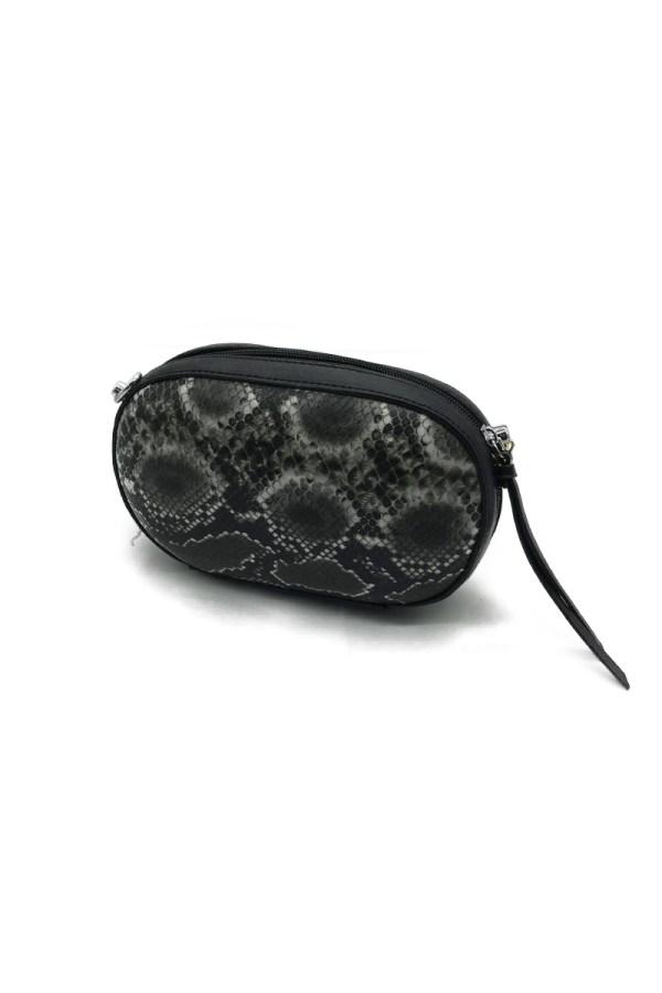 Zazuela τσαντάκι με σχέδιο φίδι