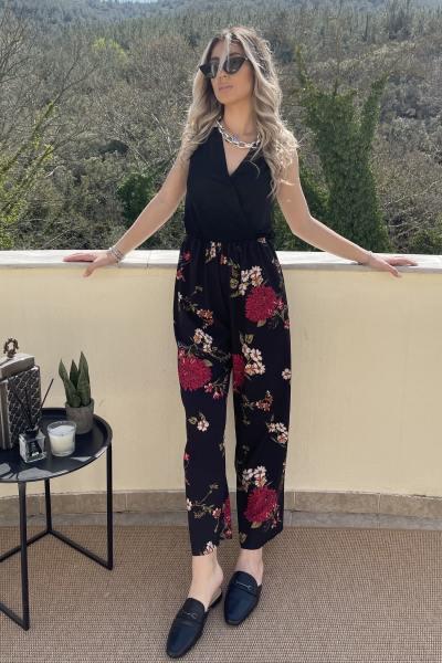 Ολόσωμη φόρμα φλοράλ