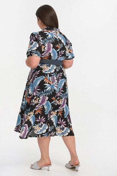 Φόρεμα plus size μαύρο