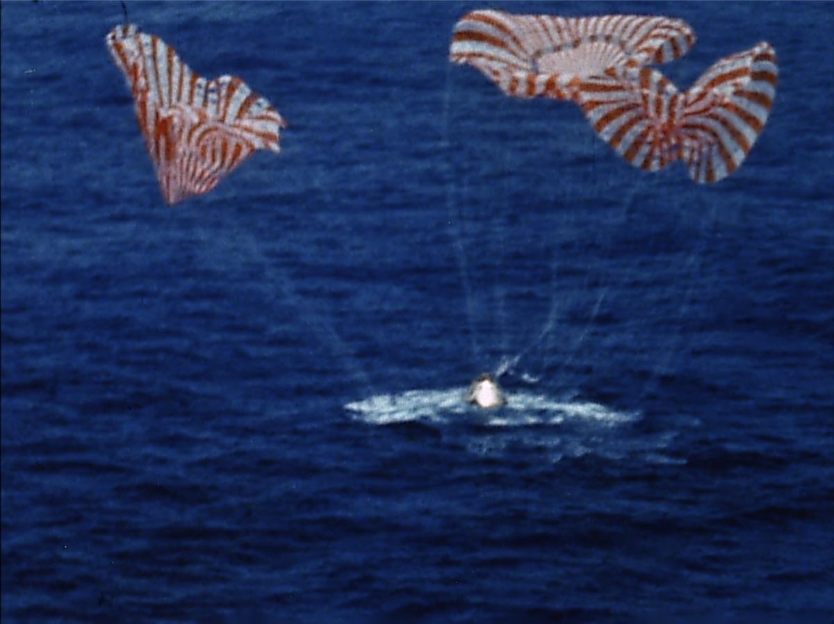 Apollo 9 - Landung im Pazifik