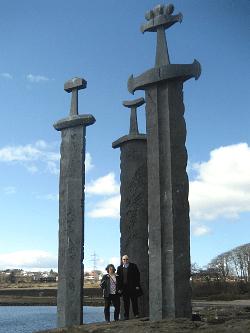 Anne und Frode, Ostern 2012