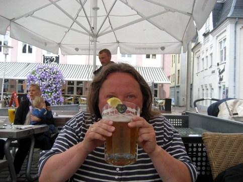 Ein kleines Bierchen in Ehren …