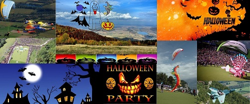Halloween Paragliding Party