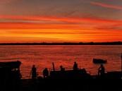 Paragwajski zachód słońca