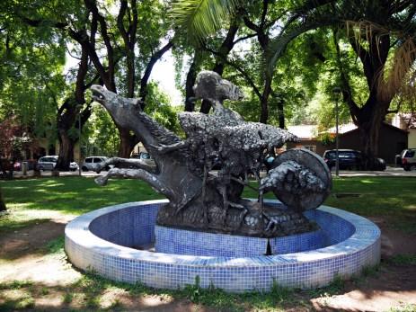 Mendoza miastem fontann.