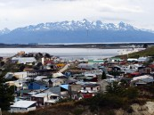 Widok na Ushuaia