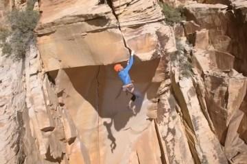 image, Le grimpeur allemand Stefan Glowacz nous emmène dans le Red Rock Canyon près de Las Vegas dans le Nevada.