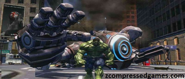 The Incredible-Hulk Highly compressed