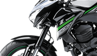 Kawasaki Z800 invertida suspensión