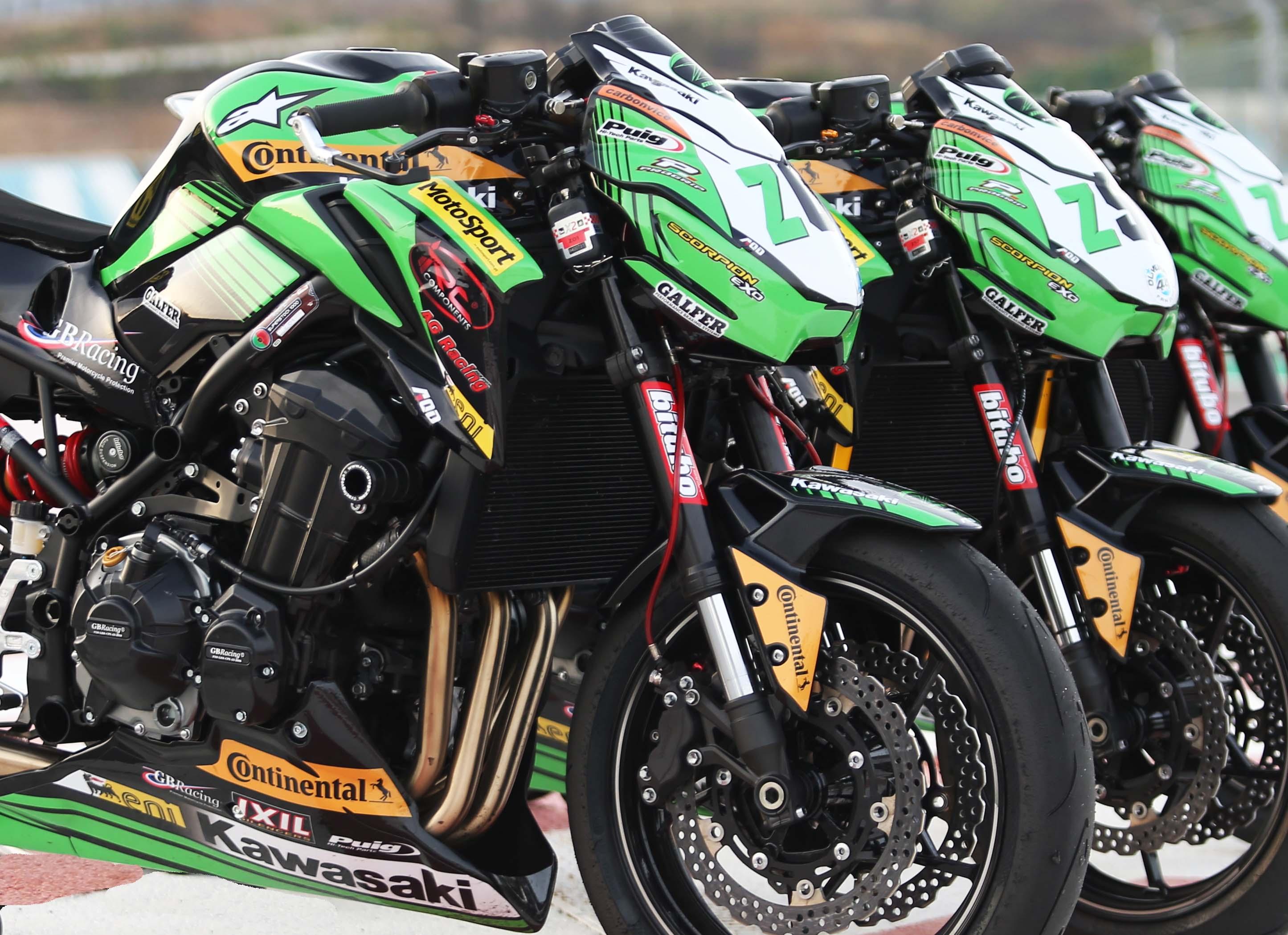 ZCUP PT Kawasaki Z900 Inscritos