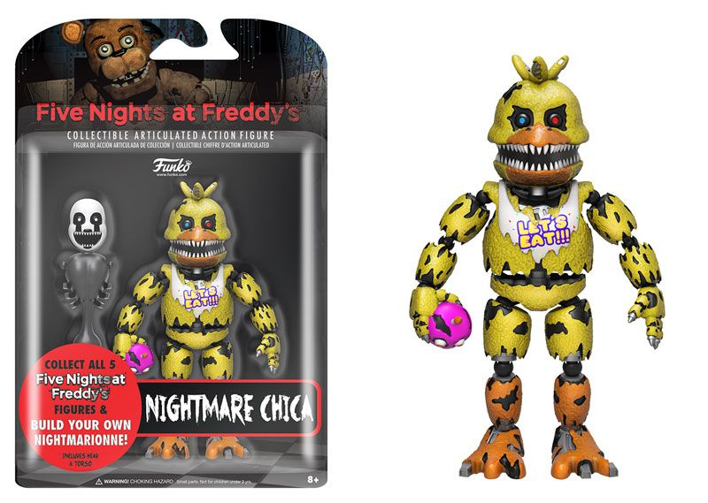 Five Nights At Freddy S Funko Action Figures Coming December Fpn