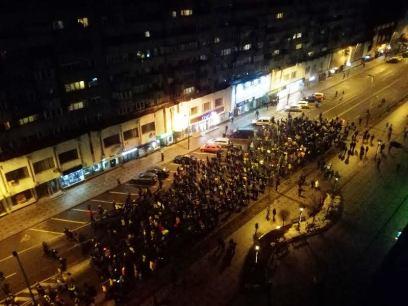 protest sambata 04 februarie Bacau 2