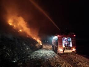 incendiu groapa de gunoi Bacau 2