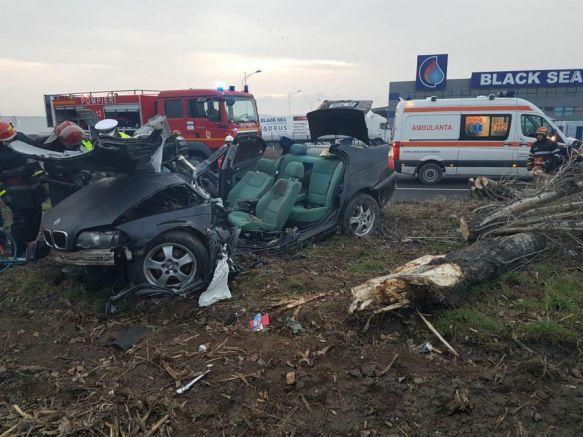 accident bmw ambulanta