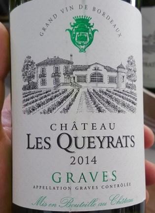 Francuskie Wina w Lidlu_Les_Queyrats_Graves