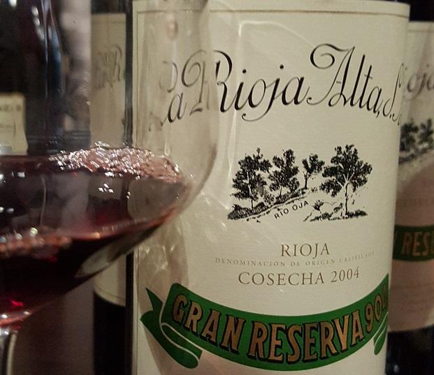 La Rioja Alta Gran Reserva 904 2004