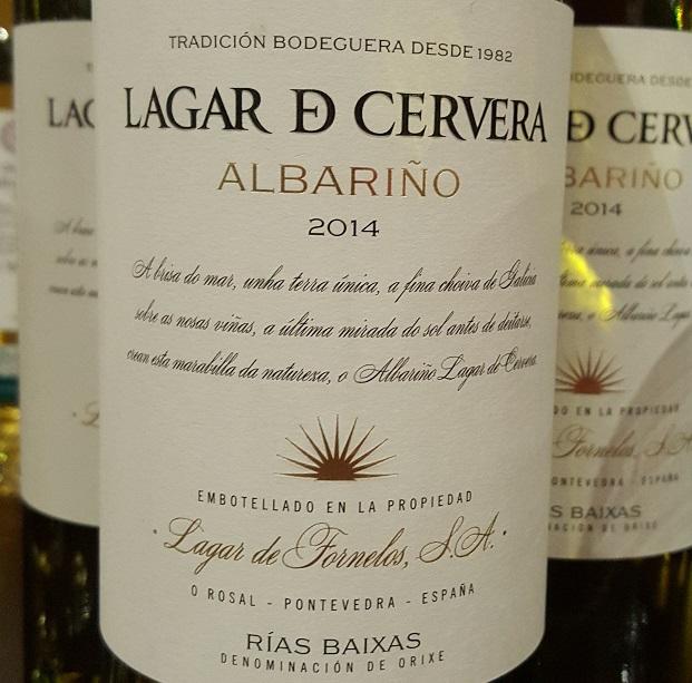 La Rioja Alta Lagar de Carvera Albariño 2014