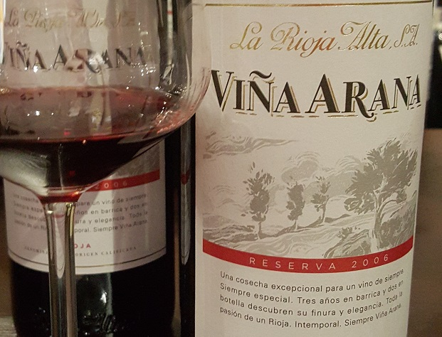 La Rioja Alta Viña Arana Reserva 2006
