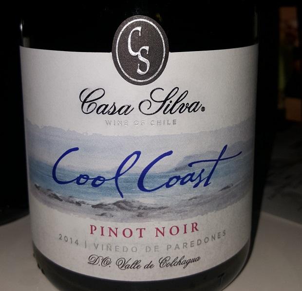 Casa Silva_Cool Coast Pinot Noir 2014