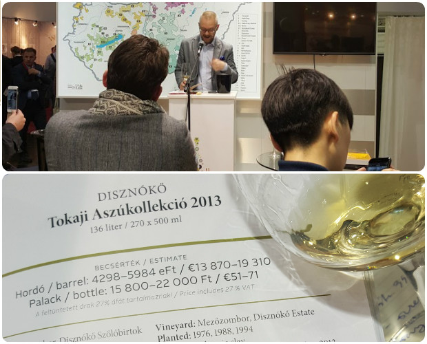 ProWein Raport-Tokaji Auction