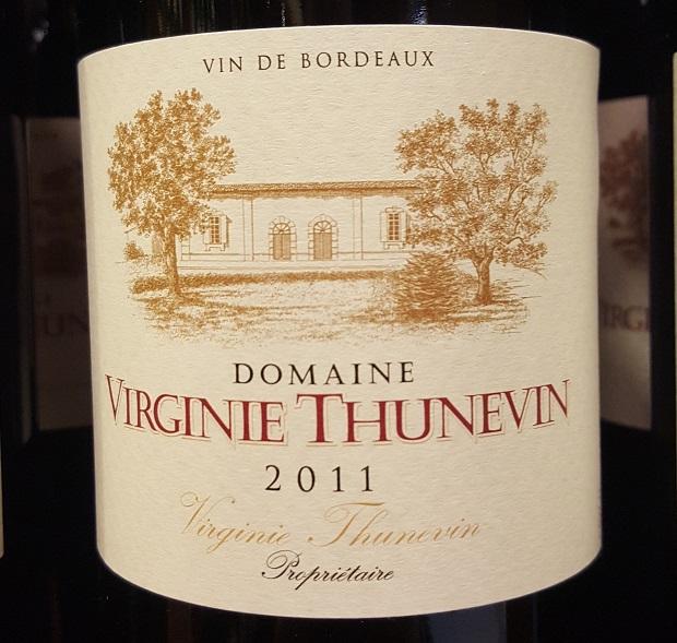 Jean-Luc Thunevin Domaine Virginie de Thunevin Bordeaux