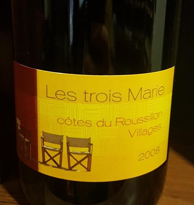 Jean-Lux Thunevin_Côtes du Roussillon-Villages Les Trois Marie