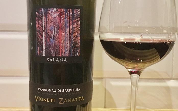 Wino na lato_Vigneti Zanata Salana Cannonau di Sardegna
