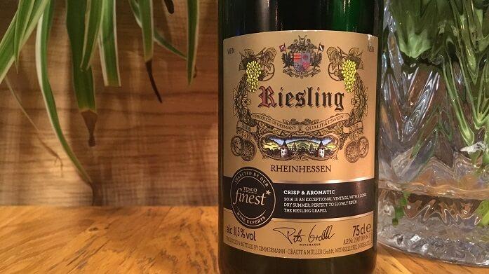 Tesco Finest Riesling Rheinhessen
