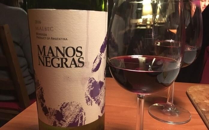 Manos Negras Malbec Mendoza 2016
