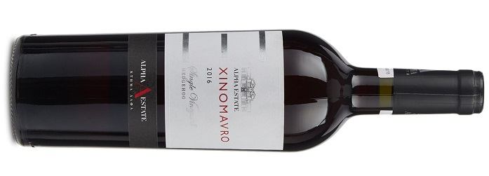 Greckie wina Alpha Estate Amyndeon Xinomavro Hedgehog