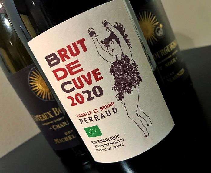 Brut de Cuve 2020Isabelle et Bruno Perraud