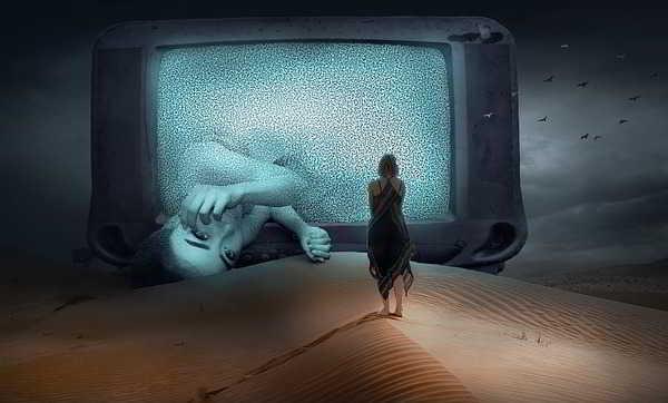 спать с телевизором