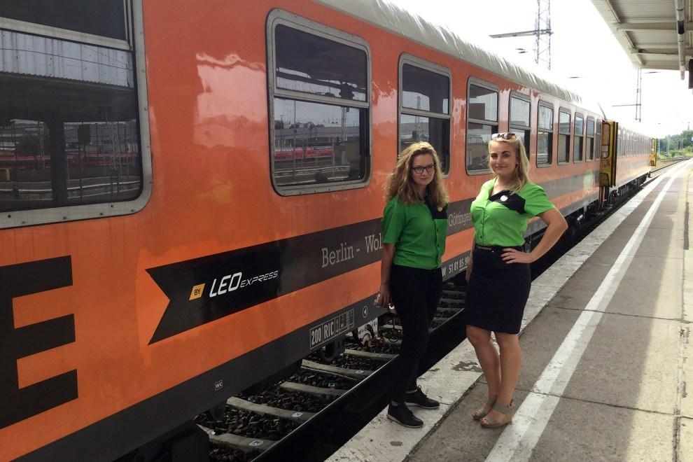 Vagon LEO Express Locomore, foto: Zdopravy.cz