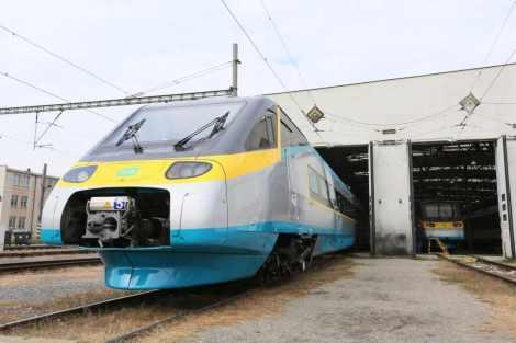 Jako první prošla revitalizací jednotka 680.005. Foto: České dráhy