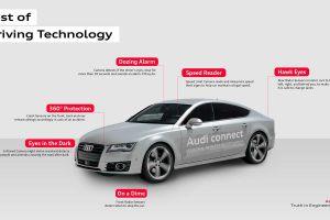 Automobilky sází čím dál více na auta s autonomním řízením. Jednou z nich je i Audi. Foto: Audi.