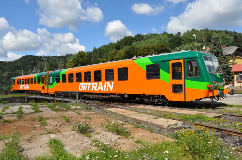 Motorová jednotka 628 v barvách GW Train Regio. Foto: GWTR