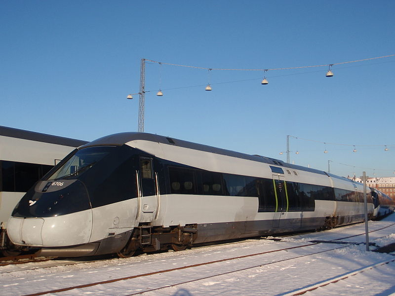 Jednotka IC 2 od výrobce Ansaldo Breda. Foto: Morten Haagensen, Wikimedia Commons