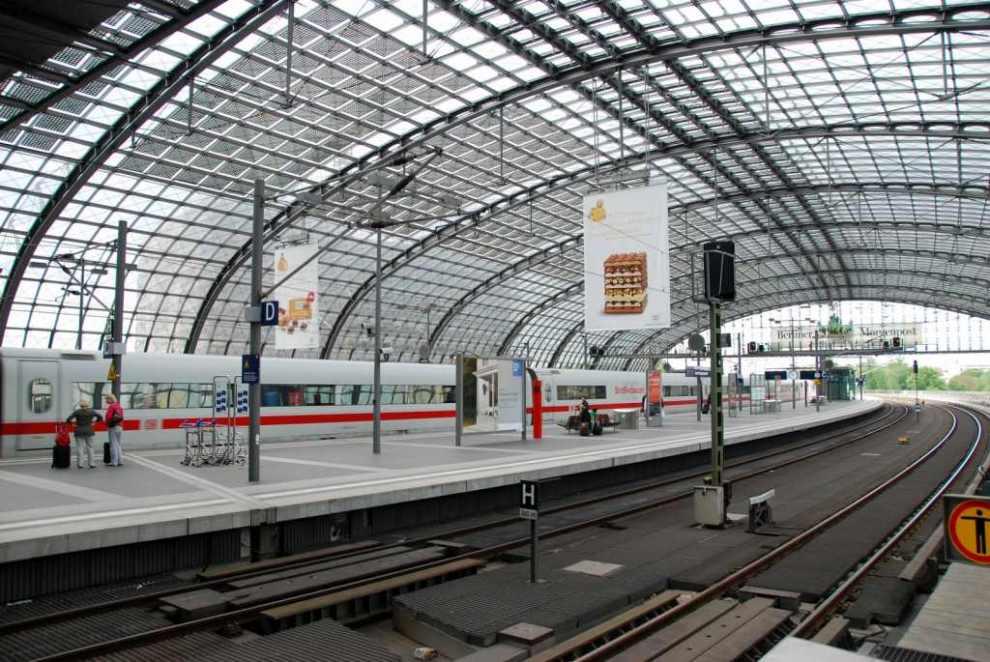 Hlavní nádraží v Berlíně. Foto: Jan Sůra