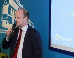Matěj Horn, šéf Království železnic. Foto: Království železnic