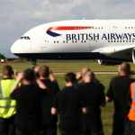 A380 British Airways v Cardiffu. Foto: Nick Morrish /British Airways